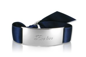 PURE LOVE - Navy Blue / Silber