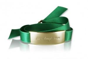 LIVE. LAUGH. LOVE. - Emerald Green / Gold