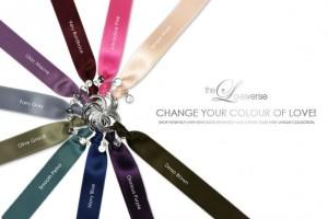 CHANGE THE COLOUR! SATINBAND Superior / Silber