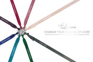 CHANGE THE COLOUR! SATINBAND Slim / Silber