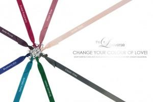CHANGE THE COLOUR! SATINBAND Slim / Silber