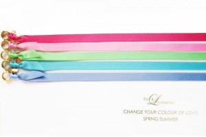 CHANGE THE COLOUR! SATINBAND Slim / Gold SPRING SUMMER Edition