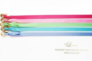 CHANGE THE COLOUR! SATINBAND Slim / Gold SPRING SUMMER Edition