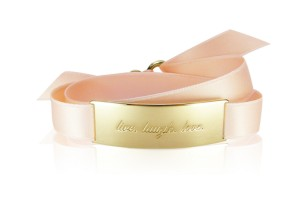 LIVE. LAUGH. LOVE. - Tender Rose / Gold