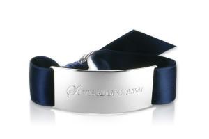 SI VIS AMARI, AMA! - Navy Blue / Silber