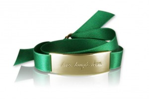 LIVE. LAUGH. LOVE. - Emerald Green / Gold