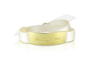 LIVE. LAUGH. LOVE. - Bridal White / Gold