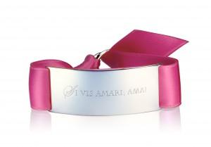 SI VIS AMARI, AMA! - Attractive Pink / Silber