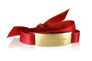 LIVE.LAUGH.LOVE. - Glam Red / Gold