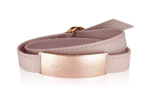 LIVE. LAUGH. LOVE. - Midnight Rose / Rosegold LEATHER