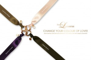 CHANGE THE COLOUR! SATINBAND für LOVE DESTINY / Rosegold