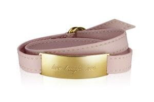 LIVE. LAUGH. LOVE. - Midnight Rose / Gold LEATHER